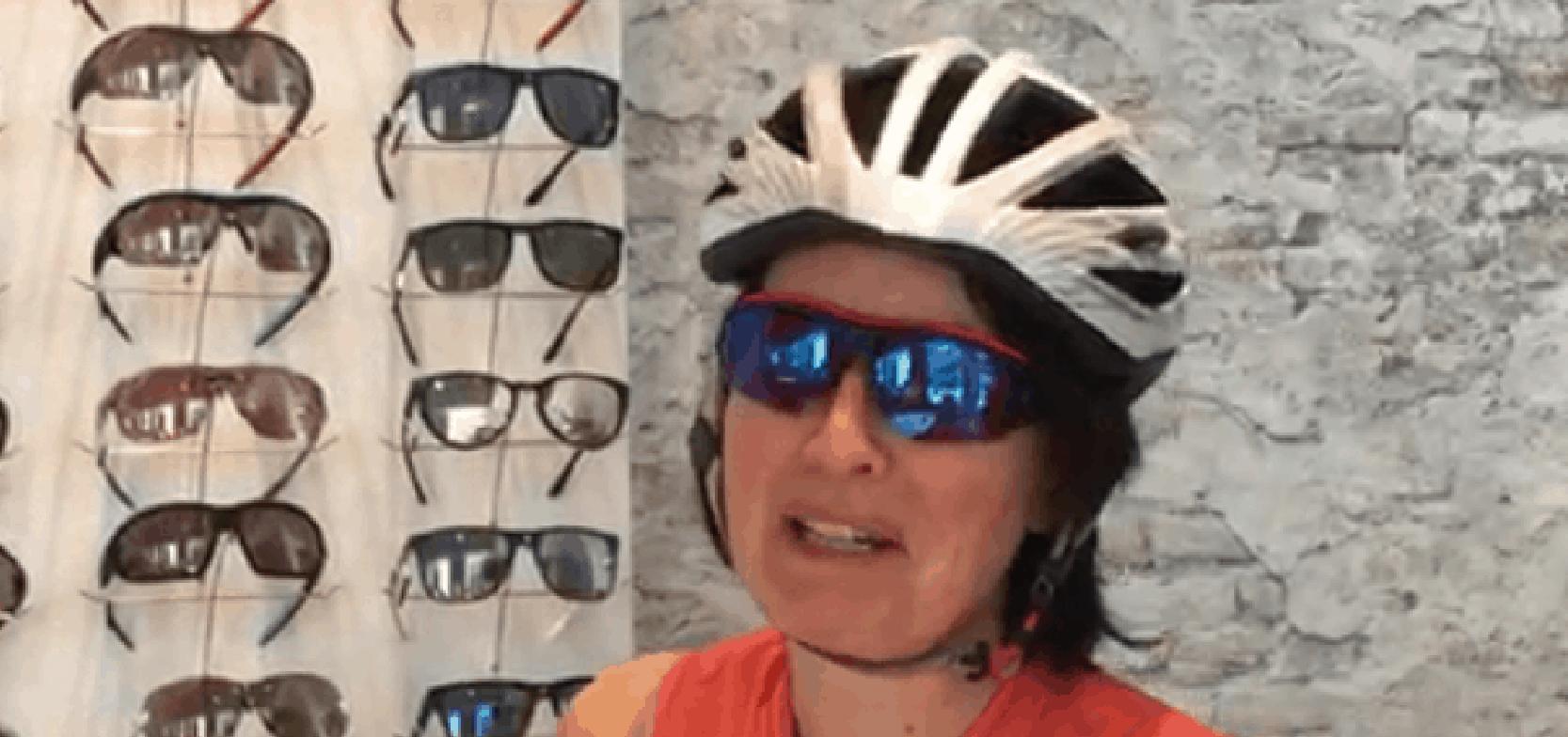 Fietsbril op sterkte van Evil Eye